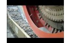 Warren & Baerg Single Waste Cubing Facility with Heated Die Systems- Video