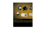ABB - Model RHD250 (Contrac) - Electrical Rotary Actuator - Brochure