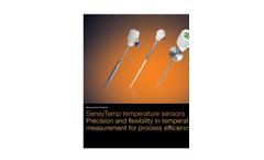 High Temperature Sensors SensyTemp TSH200 Brochure