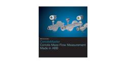 CoriolisMaster Mass Flowmeters Brochure