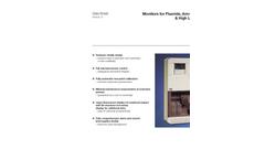 Fluoride Monitor 8231 - Data Sheet
