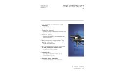 Single and Dual Input UV Nitrate Monitor AV450 and AV455 Data Sheet