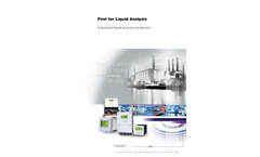 First for Liquid Analysis Brochure