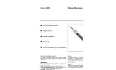 8006 Series Nitrate Electrode Data Sheet