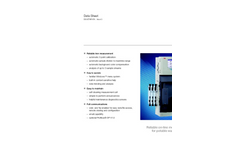 Aztec 600 Iron Analyzer Data Sheet