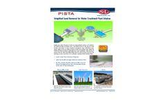 PISTA Water Intake at WTP - Brochure