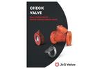 J&S Valve - Model Series 9200 - Ball Check Valve - Brochure