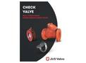 J&S Valve - Model Series 9200 - Ball Check Valve - Brochure