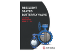 J&S Valve - Model Series 2300 - Wafer Butterfly Valve - Brochure