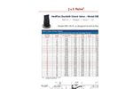 J&S HedFlex Duckbill - Series 9800 - Check Valve Brochure