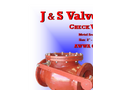 AWWA - Series 9000 - Metal Seated Swing Check Valve Brochure