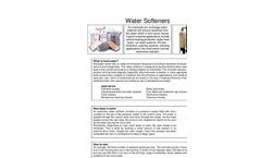 Water Softening - Datasheet