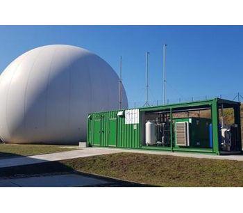 Galicia's first biomethane upgrading facility