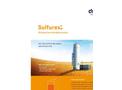 DMT Sulfurex - Model BF - Biological Gas Desulphurisation Brochure