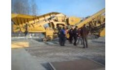 Baioni to Deliver a Complete Portable Crushing and Screening Plant Video