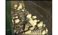 Baioni - Primary Selection of Aggregate Live Roll Grizzly Screen (Wobbler) Video