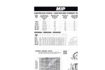 Model MIP - Primary Impact Crusher Technical Datasheet