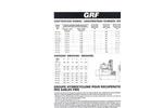 Model GRF - Hydrocyclone Unit Technical Datasheet