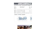 Model UNICOMPACT - Complete Crushing and Screening Plants Technical Datasheet