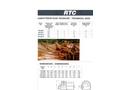 Model RTC/RTCD - Bucket Dewatering Reclaimer Technical Datasheet