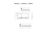 Model STC - Inclined Counter Flow Washing Barrels Technical Datasheet