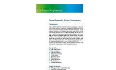 Thermal Regenerative Systems, Thermoreactors- Brochure