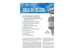 AIO - Model 2 - All in One Weather Sensor Brochure