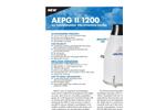 Model AEPG 600/1000 - Weather Precipitation Gauge Brochure
