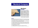 Murdock - Model MicroExact MH Series - Pleated Polyester Filter Cartridges - Brochure