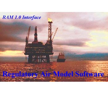 RAM - Version 1.0 - Multiple Source Air Quality Modeler and Analyzer