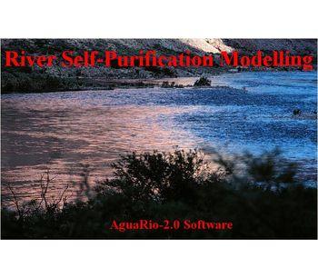 AguaRio - Version 2.0 - River Self-Purification Modeler