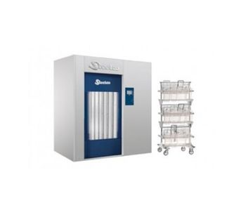 Sychem - Model AC8000 - Cage Washer with Automatic Door