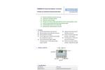 Model AOM2000 - O3 Ozone Gas Monitor/Controller Datasheet