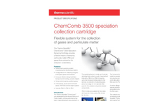 Thermo Scientific ChemComb - Model 3500 - Speciation Collection Cartridge - Datasheet
