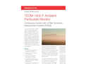 TEOM 1405-F Ambient Particulate Monitor - Datasheet