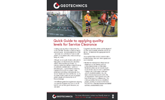 Geophysics Services Brochure