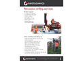 Site Investigation Services Brochure