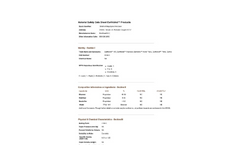Earthbind - Bituminous Modified Biopolymer Soil Stabilization - MSDS