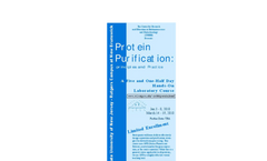 Protein Purification Course Brochure