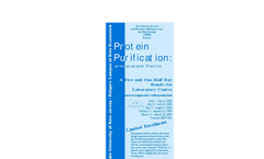 Protein Purification Brochure