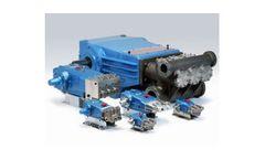 Triplex High Pressure Positive Displacement Piston And Plunger Pumps