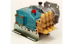 Model 5CP - Direct Drive Gearbox Plunger Pump Series