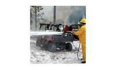 Ultra-High-Pressure Wildland Foam Firefighting Units