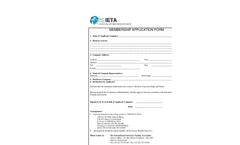 IETA Application (PDF 43 KB)