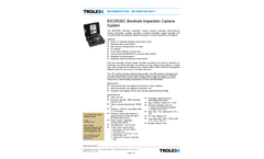 Trolex - Model BICSR30C - Portable Borehole Camera Brochure
