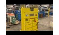 Vertech Inc Cardboard Baler M2503 - Video