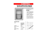 Carbtrol - Model L-1 - Water Purification Canister - Brochure