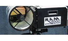 OP-FTIR - Model RAM2000 - Combined Support System