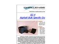 SG-4 Asphalt Bulk Specific Gravity - Brochure
