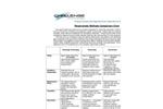 Respirometer Types Comparison Chart - Brochure